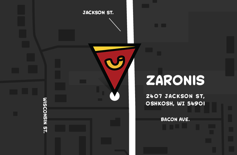 Zaroni's Pizza Delivery in Oshkosh